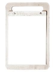 retro clipboard
