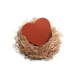 love box on nest
