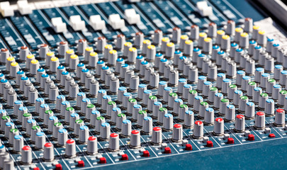 Studio mixer knobs