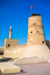 Al Fahidi Fort (1787), home to the Dubai Museum and city's oldes