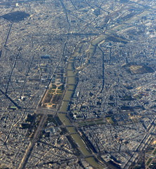 paris ...vue aérienne