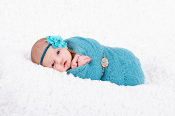 Newborn gepuckt
