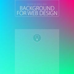 Elegant background for web design, vector illustration, UI flat