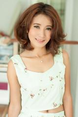 Portrait beautiful asian girl