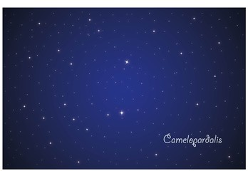 Constellation Camelopardalis