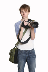 News Photographer young male