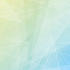 Abstract modern paper background template