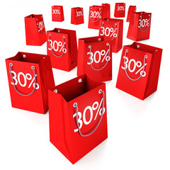 Einkaufstüten 30%