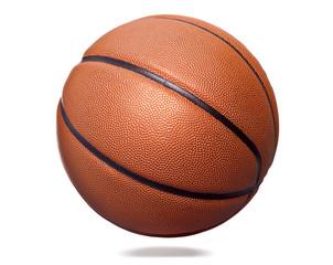 Orange basket ball, isolated on white background