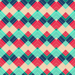retro zigzag seamless pattern