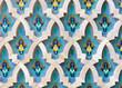 Mosaic detail - Hassan II Mosque - Casablanca