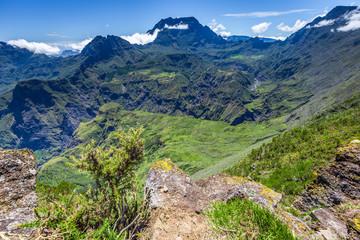View at point Maïdo, La Réunion