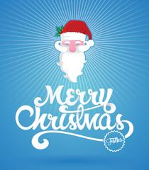 Merry Christmas script card