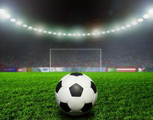 Wall Mural - Soccer bal.football,
