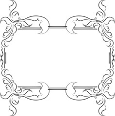 Elegant decorative