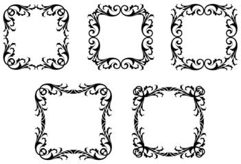 Gothic Leafy Frames