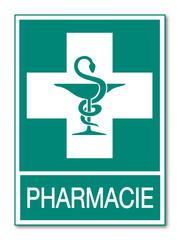 Panneau pharmacie.