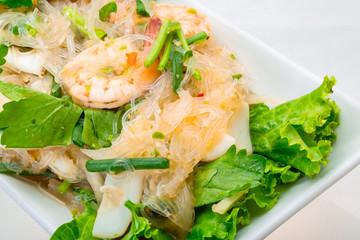 Glass noodle with shrimps