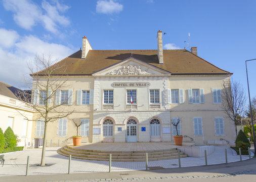 Beaune, city hall, burgundy, France, saone-et-loire