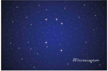 Constellation Microscopium