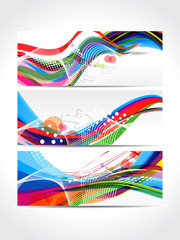 Colorful Wave Banner