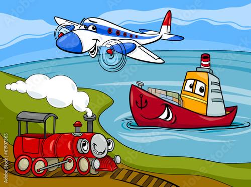 поезд для мальчиков лодки