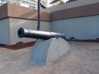 Monarchy Cannon on display at the Army Museum