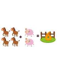 animals to learn mathematics