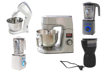 coffee-grinder and automatic mixer