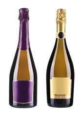Bottles of champagne.