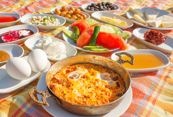 Turkish breakfast 1