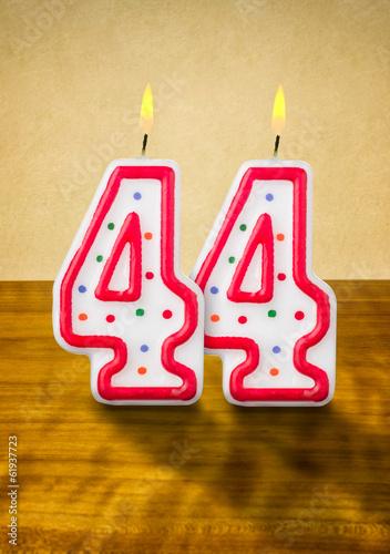 Поздравление с днем рождения стульчики 44 года