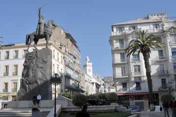 Fototapeten Algerien Alger - place Emir Abdelkader