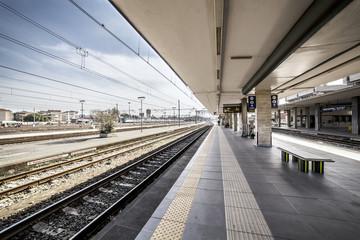railway station platform