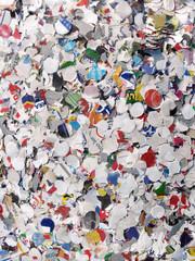 Coriandoli di carta colorati