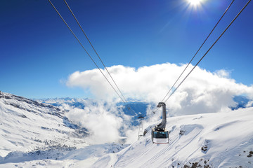 Luftseilbahn Skigebiet Flims