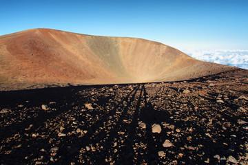 Extinct volcanic crater