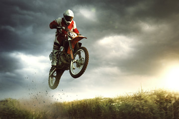 Moto cross Wall mural