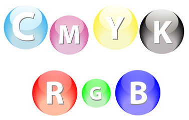 RGB and CMYK Spheres