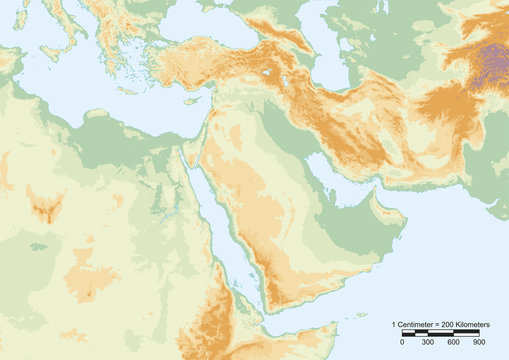 Middle East physical