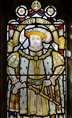 Stained glass from Bristol cathedral
