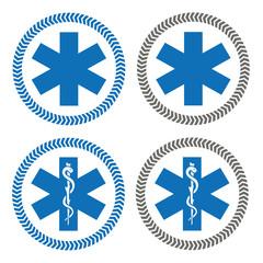 Logo ambulance.