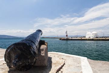 View of Aegina harbor