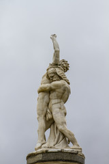 Hercules. Ornamental fountains of the Palace of Aranjuez, Madrid