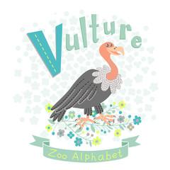 Letter V - Vulture