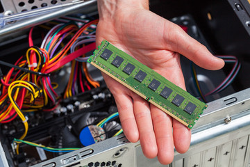 Computer ram data
