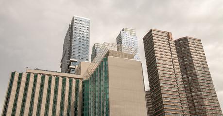 Fototapete - Manhattan, New York. City skyscrapers and skyline