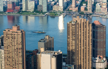 Wall Mural - Manhattan, New York. City skyscrapers and skyline