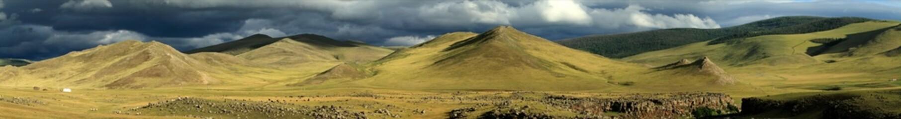 Orkhon Tal Regenzeit in der Mongolei