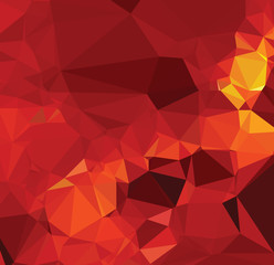 Background modern texture triangle geometry red fight abstract